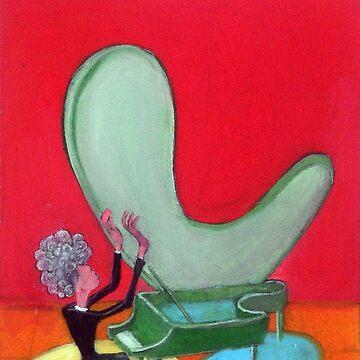 El pianista por Diego Manuel by diegomanuel