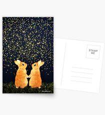 Suche nach Sternschnuppen (2008) Rabbit / Bunny Art Postkarten