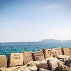 Beautiful rocks of beach by Sunil Bhardwaj
