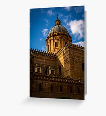 Cathedral of Montreal, Palermo, italy Greeting Card
