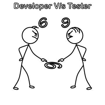 Developer vs Tester 6/9 by WeeTee