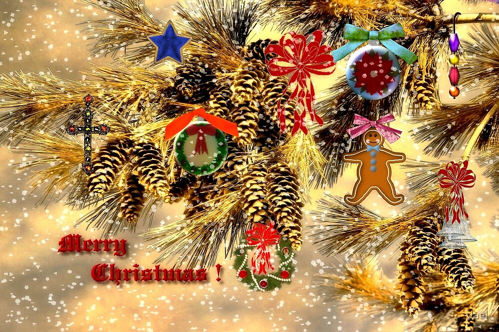 JOY FILLED CHRISTMAS!! by Jael