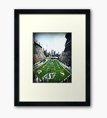 Mosaic Stadium Taylor Field Framed Print