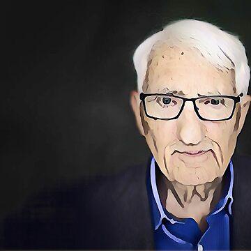 Jürgen Habermas - stylized by jaxxmc