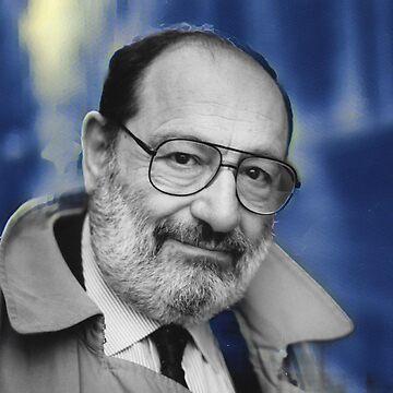 Umberto Eco - stylized by jaxxmc