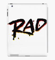 RAD 1980's BMX MOVIE iPad Case/Skin