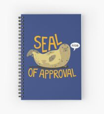 Seal of Approval Spiral Notebook