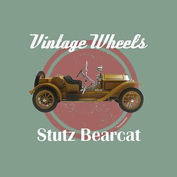 Vintage Wheels - Stutz Bearcat by DaJellah