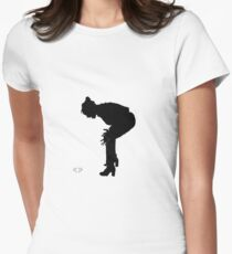 A Shadow of A star is born Women's Fitted T-Shirt