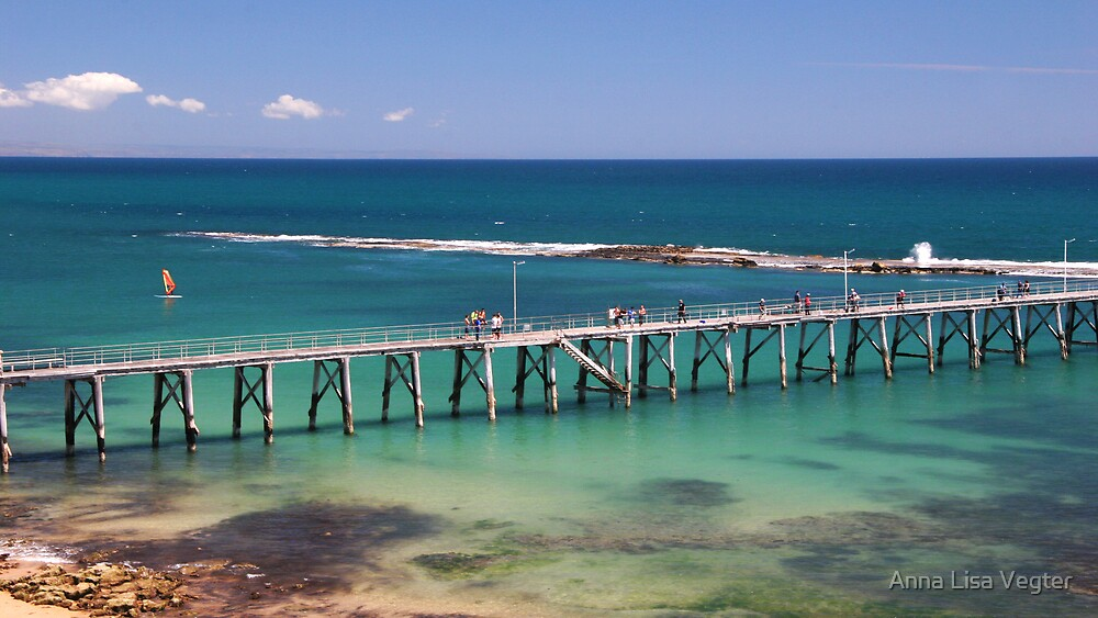 Pt Noarlunga Jetty, Adelaide, S.A by Anna Lisa Vegter