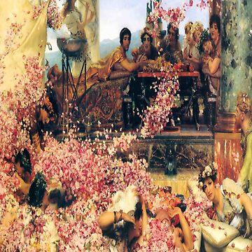 The Roses of Heliogabalus-Sir Lawrence Alma Tadema by LexBauer