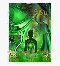 Heart Chakra Energy Photographic Print