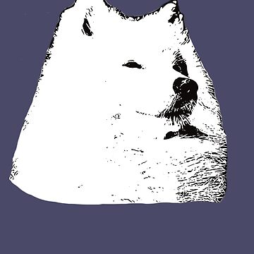 Samoyed - Smiley Christmas Gifts by DoggyStyles