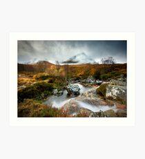 Scotland : Srón na Créise Art Print
