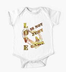Love is not just a game/  Art + Products Design  Kids Clothes