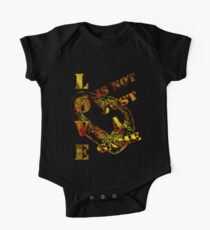 Love is not just a game/  Art + Products Design  One Piece - Short Sleeve