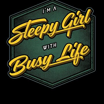 I'm A Sleepy Girl With Busy Life by javaneka