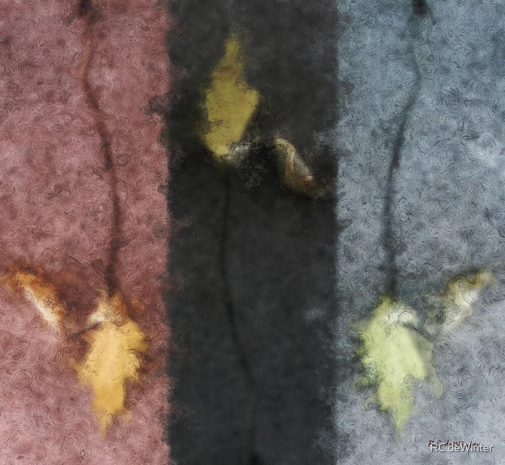 Three Leaves by RC deWinter