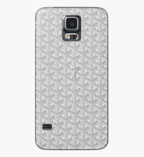silver goyard Case/Skin for Samsung Galaxy