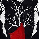 Little Red Ridinghood against the Wolves within by philspaulding