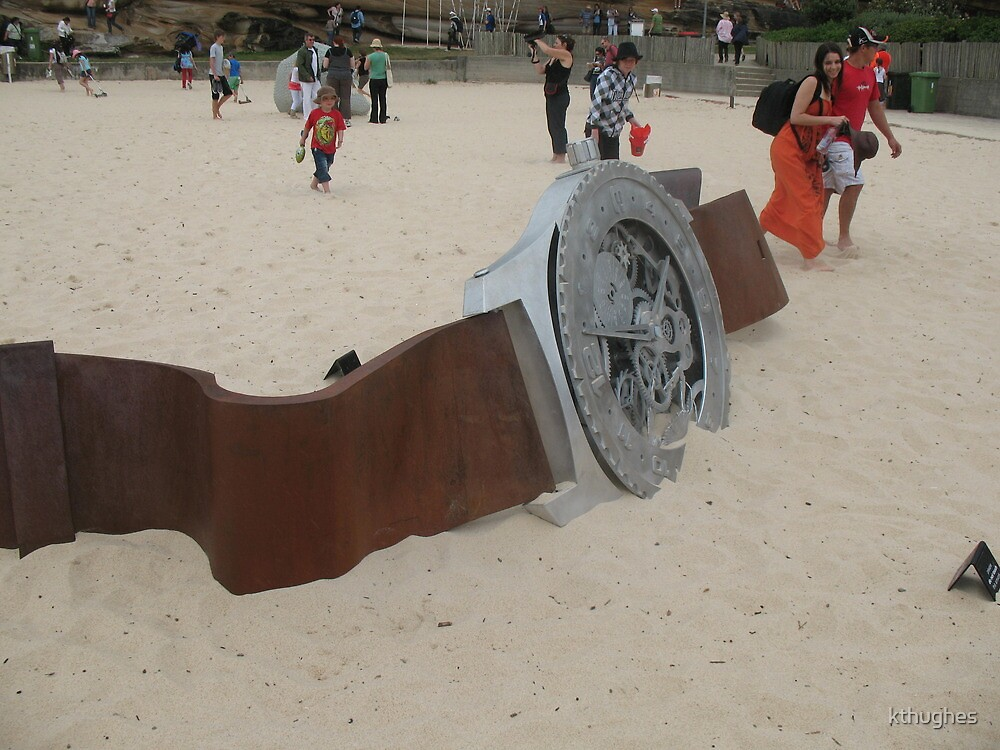 Have you seen my watch, I lost it at the Beach by kthughes