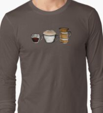 Breakfast, lunch & dinner Tee Long Sleeve T-Shirt