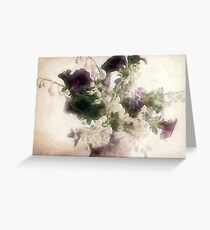 Victorian Spring Bouquet Greeting Card