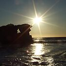 Slowly setting - Two Rocks, Western Australia by Karen Stackpole