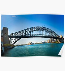 Sydney from Milsons Poster