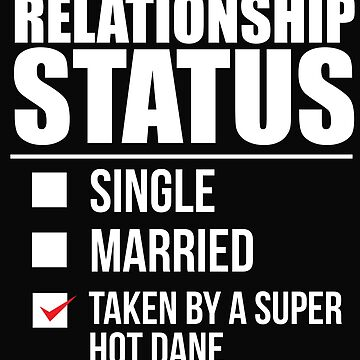 Relationship status taken by super hot Dane Danish Denmark Valentine's Day by losttribe