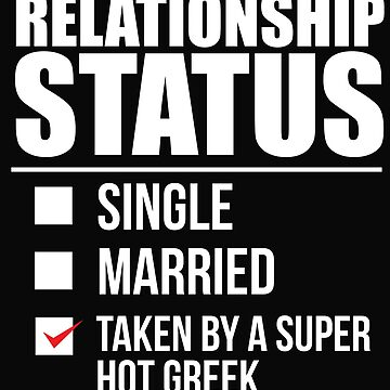 Relationship status taken by super hot Greek Greece Valentine's Day by losttribe