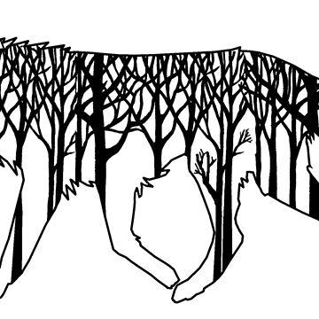 ForestWolf by blafke