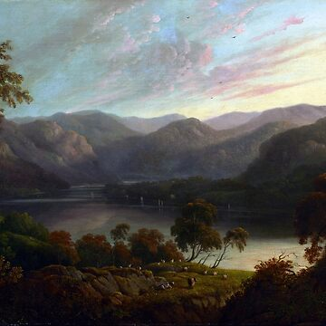 John Glover Landscape View in Cumberland by pdgraphics
