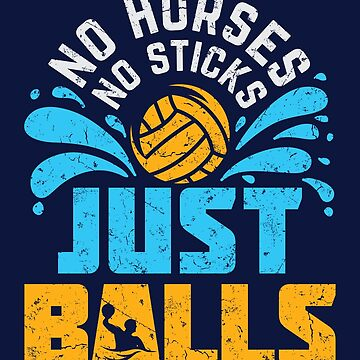 Water Polo No Horses No Sticks Just Balls by jaygo