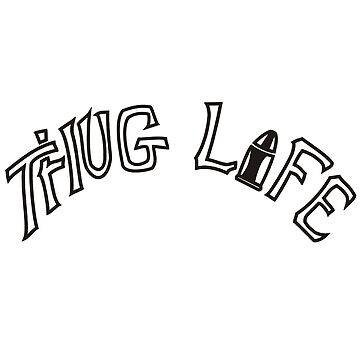 The hate you give - Thug Life Tattoo by queendeebs