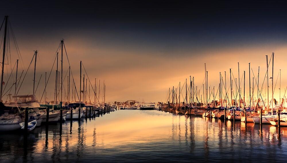 Yacht Row by Stephen Warren