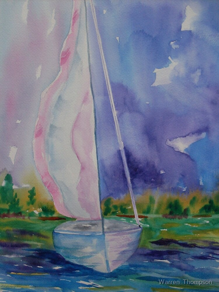 Abstract Sail by Warren  Thompson