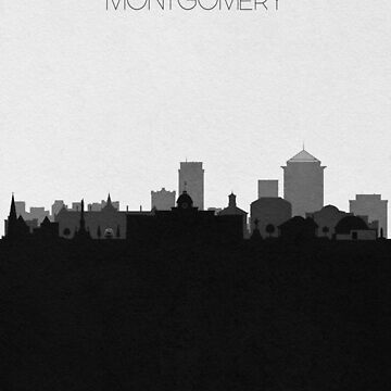 Travel Posters   Destination: Montgomery by geekmywall