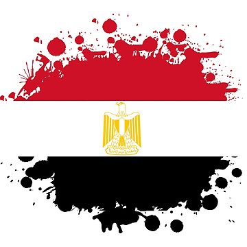 Egypt blob stain / gift flag Cairo by Rocky2018