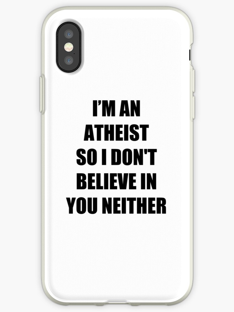 Funny Atheism Funny Gift Idea by FunnyGiftIdeas