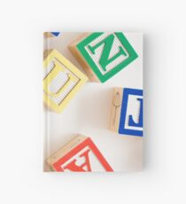 "ABC Blocks spell ""FUN"" Hardcover Journal"