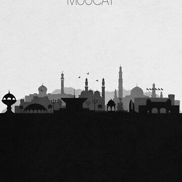 Travel Posters   Destination: Muscat by geekmywall