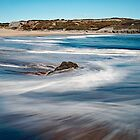 Broad Haven Beach Blues by Mark Haynes Photography