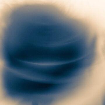 Blue rose by LoraSi