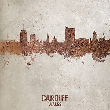Cardiff Wales Skyline by ArtPrints