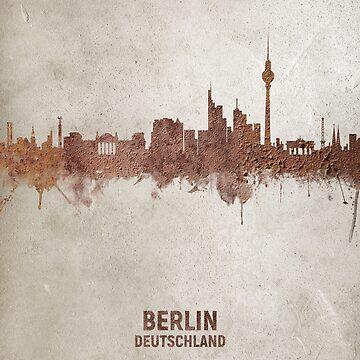 Berlin Germany Rust Skyline by ArtPrints