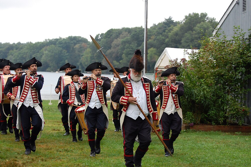 Kentish Guards Fife and Drum Corps by Steven Squizzero