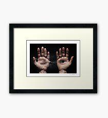 Open Minded Framed Print