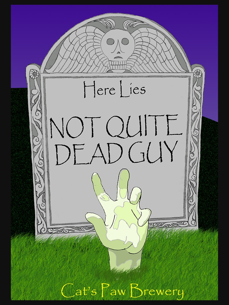 Not Quite Dead Guy by Shnoodle