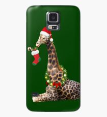 Christmas  Giraffe  Case/Skin for Samsung Galaxy